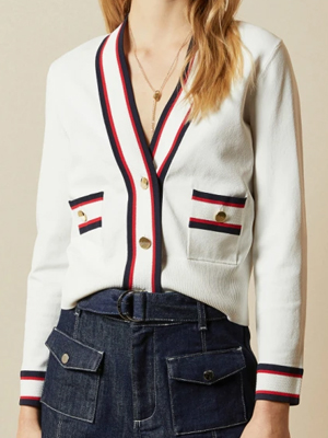 Ted Baker Ribbed Cardigan